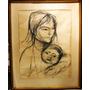Obra Del Maestro Juan Carlos Castagnino - La Maternidad