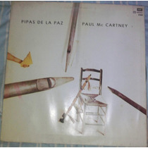 Lp- Paul Mccartney Beatles Pipas De La Paz - Perfecto Estado