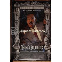 La Mansion Embrujada Disney Afiche 100 X 70 Cine Poster