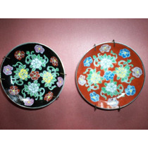 Platitos Porcelana Japan C/soporte