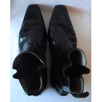 Botas De Vestir Color Negro No Logo Talle 43