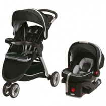 Coche Graco Fast Action Sport Travel System Huevito + Base