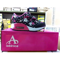 Zapatillas Addnice Minnie Con Luces