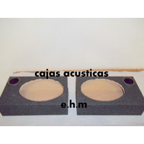 Cajas Para Parlantes 6x9 Con Tubo Y Borneras.