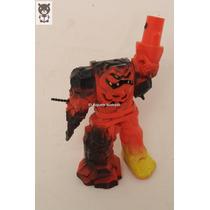 Muñeco Monstruo Naranja Antiguo Hasbro