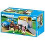 Playmobil 5223 Vehiculo Con Remolque Ponis - Minijuegosnet