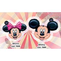 Globos De 11 Pulgadas Minnie - Mickey