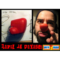 Nariz De Payaso Cuadrada En Latex ! Clown, Krusty Original