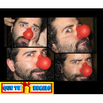 Clown Nose De Latex, Nariz Profesional, Payaso, Circo Teatro