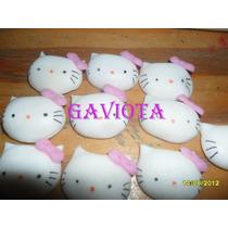 Apliques Porcelana Fria Kitty X 10 Un.
