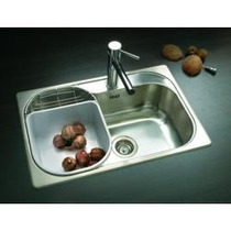 Pileta Bacha Cocina Acero Johnson Simple Luxor Si71 A