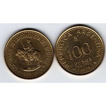Moneda Conquista Desierto Año 1979 100 Pesos Sin Circular!!!