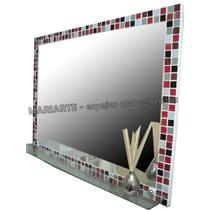 Espejo 60x80 Cm Venecitas - Color A Eleccion