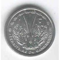 Moneda De Camerun 1 Franco Año 1948 Sin Circular