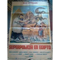 Afiche Cine Superpolicia En Egipto