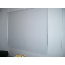 Cortinas Roller Black Out Blanco