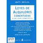 Ley De Alquileres Comentada - Abatti Rocca - Dyf