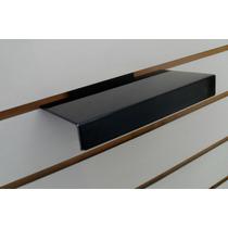 Porta Calzado Exhibidor Bandeja Acrilica Para Panel Ranurado