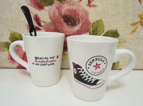 Souvenirs tazas mates bautismo cumple infantil 15 for Tazas para desayuno