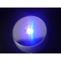 Nuevo* Base Luminosa, Led Intermitente Fiestas X14c/pilas