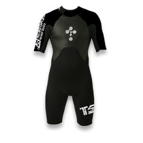 Wetsuit Traje Neoprene Corto Adulto 2.5mm Kayak Surf Buceo