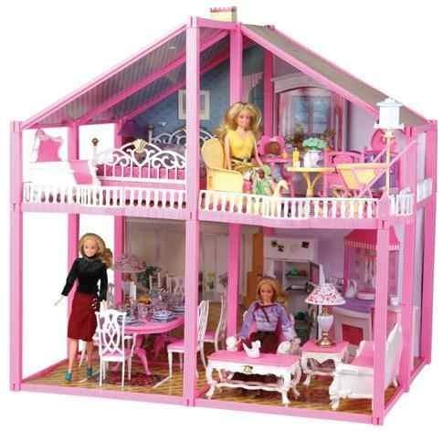 Casa de mu ecas grande gloria tipo barbie imperdible casas y muebles a ars en - La casa de barbie de juguete ...