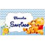 Cartel De Bienvenida Nacimiento Bebe Winnie De Pooh Disney