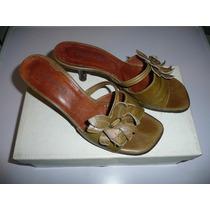 Zapato,sandalia Taco Medio N°37,exelente