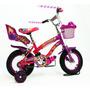 Bicicleta Infantil Rodado 12 Doble Freno Ruedas Inflables !!