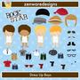 Kit Imprimible Rock Stars 9 Imagenes Clipart