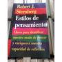 Estilo De Pensamiento Robert J.stenberg Paidos