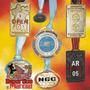 Medallas Con Logo 40 Mm Doble Faz Diseño Propio De Metal