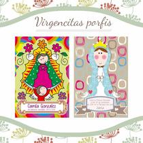Virgencitas Porfis, 30 Tarjetas Comunión, Confirmación, Etc