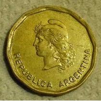 Moneda - Argentina - 50 Centavos Austral - Años 1986/87/88