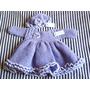 Tejidos Artesanales A Crochet: Vestido Para Beba Con Gorro!