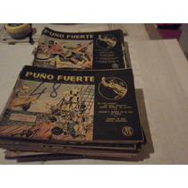 Puño Fuerte-32 Numeros1953-personajes De La Edad De Oro-