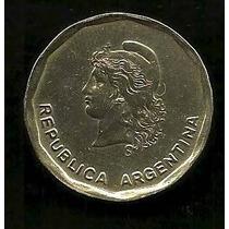 Moneda - Argentina - 50 Centavos De Peso - Año 1983