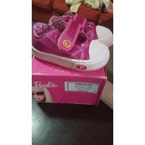 Zapatillas Barbie Talle 21 Fucsia Nuevas En Caja 390$