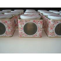 Latitas Con Visor / Cajitas Estampadas Souvenir 10 Unidades