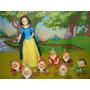 Adorno Para Torta Princesas: Blancanieves Y Los 7 Enanitos