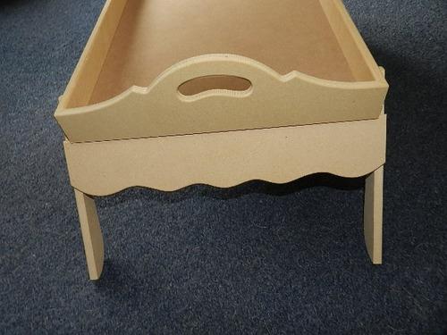 Bandeja de madera para cama con patas plegables bandejas a ars en preciolandia - Bandeja con patas ...