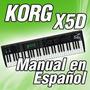 Korg X5d - Manual En Español (226 Paginas)