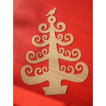 Pinos De Navidad_arbolito Navideño Para Pintar