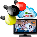 Google Chromecast 2 Tv 2da Generacion Mod. Nuevo Negro