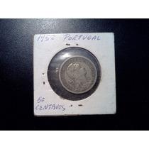 50 Centavos Portugal Año 1952