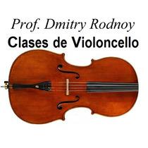 Entrevista X Clases De Violoncello - Prof. Dmitry Rodnoy