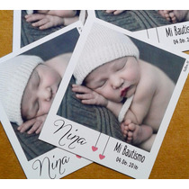 Souvenir Polaroid Foto Iman 24 Unid. Cumpleaños Bautismo