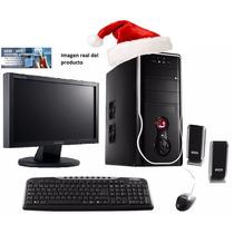 Pc Nueva Completa + Samsung Lcd 17 - 500gb 4gb Ati Dvdrw