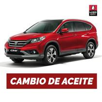 Cambio Aceite Y Filtro Honda Cr-v 2.4 16v Vtec Desde 2002