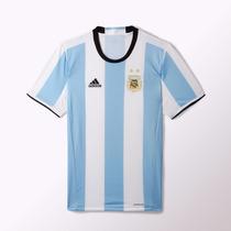 Camiseta Futbol Adidas Titular Selección Argentina 100% Orig